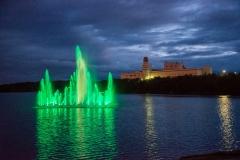 Фонтан Семеновское озеро