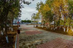 Сквер на ул. Шалабалина
