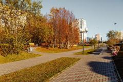 Сквер по переулку Русанова